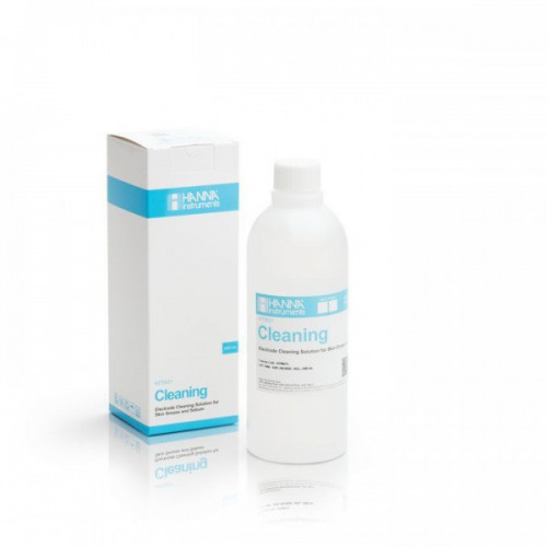 Solución limpieza electrodos para grasa de piel y sebo, 500 ml
