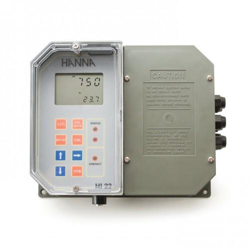 Controlador ORP de pared, 1 punto de consigna, control ON/ OFF, salida analógica