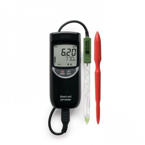 pHmetro (pH/ Temp) impermeable con electrodo de triple unión