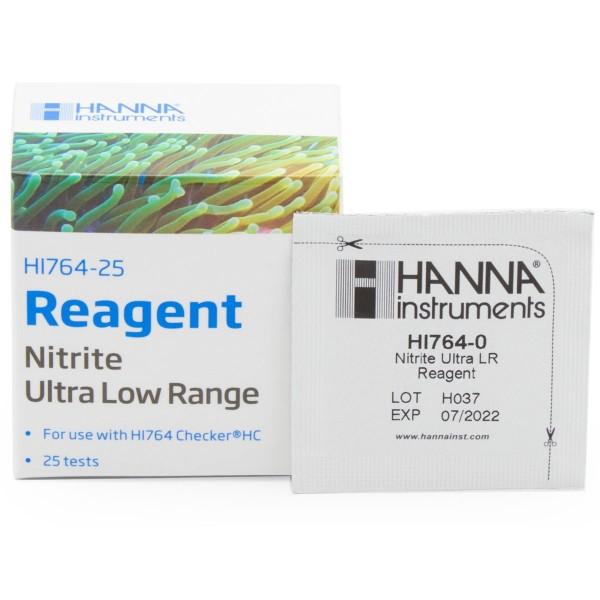 Reactivo Nitritos agua marina rango ultra bajo (0 a 200 ppb) 25 test