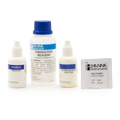 Recambio 100 test para Cloro Total (0,0 a 4,0 - 0 a 20 mg/ L)