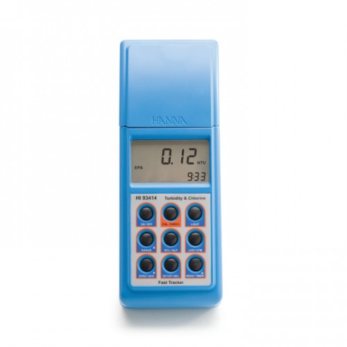 Turbidímetro/ Fotómetro portátil (Turbidez/ Cloro Libre y Total) salida USB/ RS232