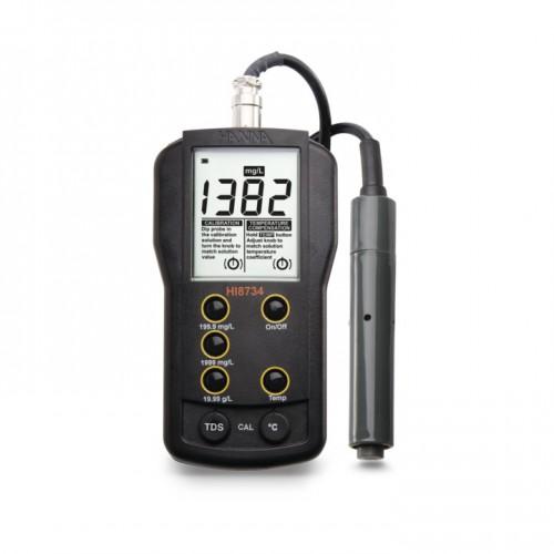 Medidor portátil TDS (0,0 mg/ L a 19,99 g/ L) compensación manual temperatura