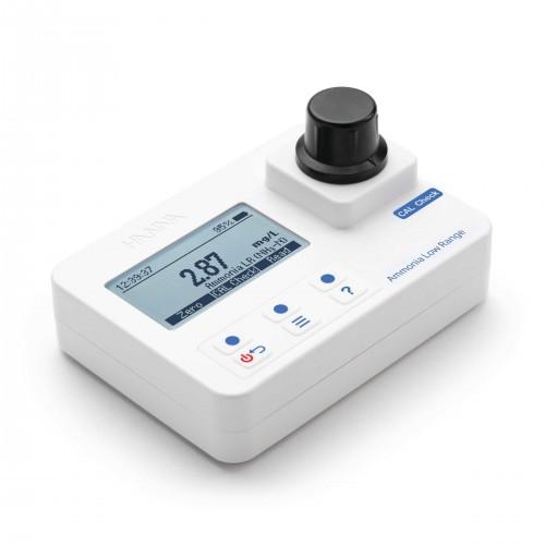 Fotómetro portátil Amonio rango bajo 0,00 a 3,00 mg/L NH3-N