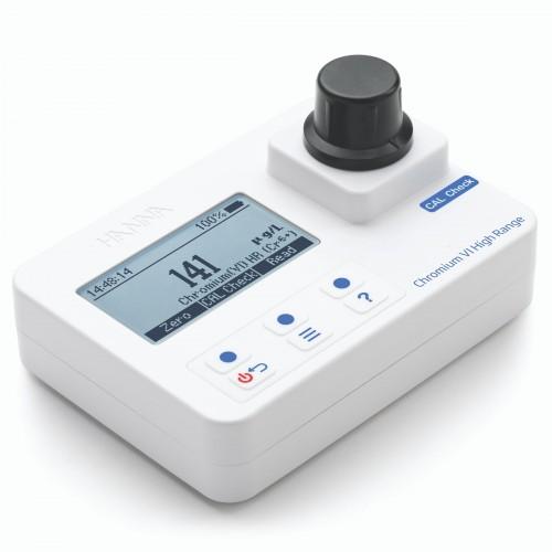 Fotómetro portátil Cromo Hexavalente rango alto 0 a 1000 mircrog/L