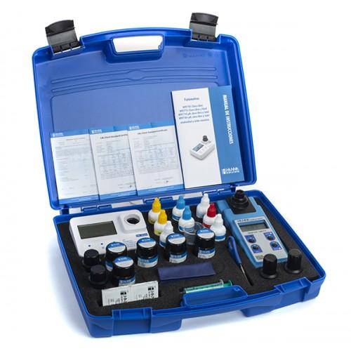Turbidímetro y Fotómetro multiparamétrico portátil Cloro Libre y Total/pH/Ácido Cianúrico