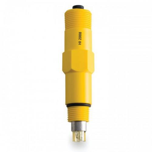 Electrodo amplificado ORP, cuerpo plástico, unión PTFE, 6 bar, 0,5m, conector DIN,para PCA330