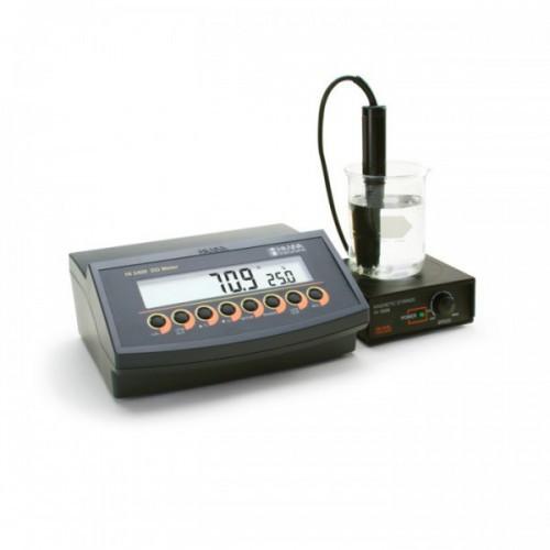 Medidor Oxígeno Disuelto sobremesa (OD/ % Saturación O2/ Temp) salida USB