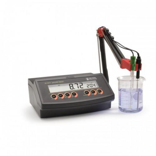 pHmetro sobremesa básico (pH/ ORP/ Temp) calibr. 2 ptos